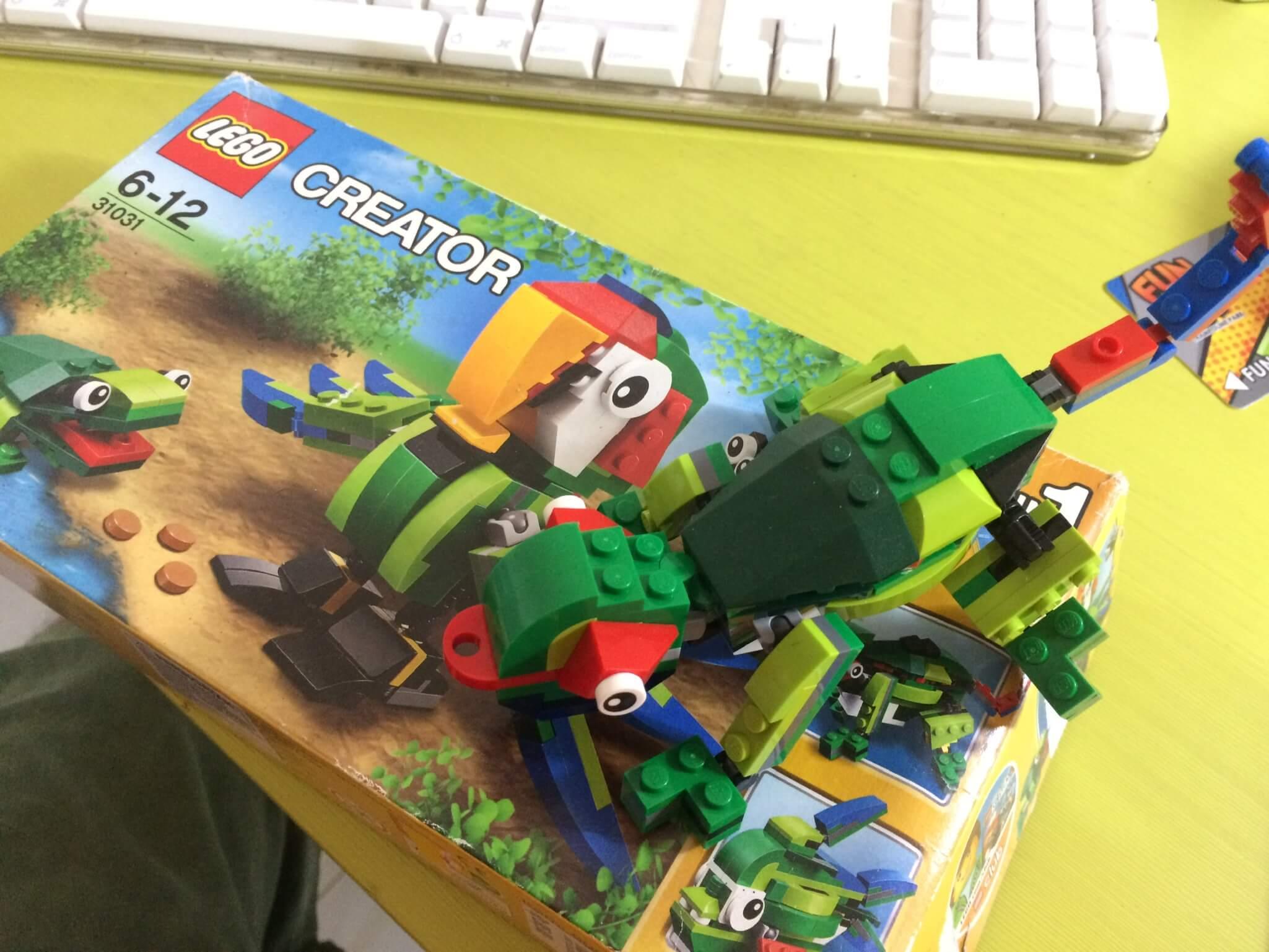 Permaninan Lego - Lego Creator 31031 - Keluarga SIrkus