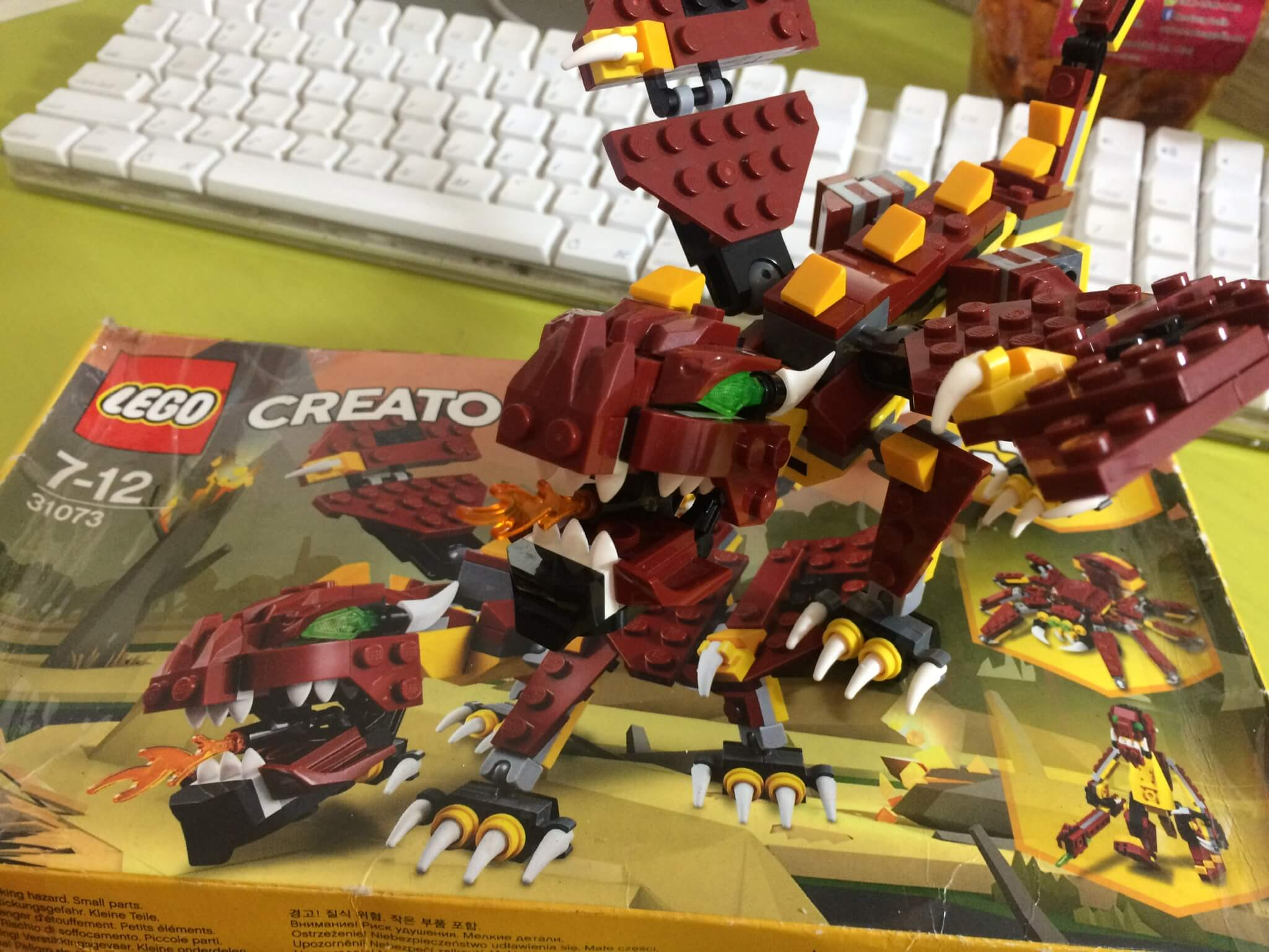 Permaninan Lego - Lego Creator 31073 - Keluarga SIrkus