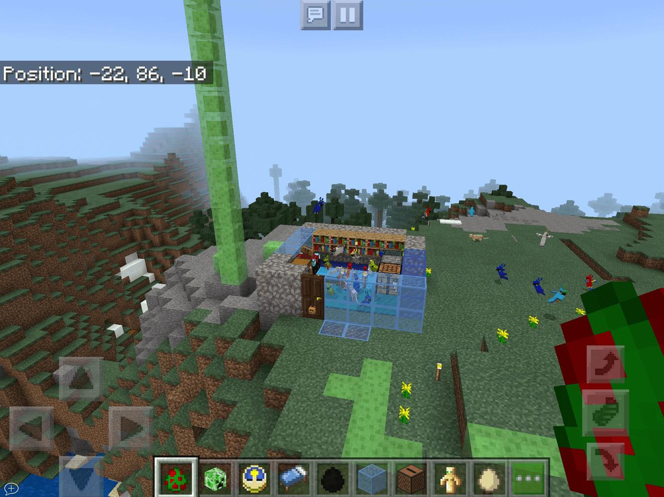 Cara membuat rumah di Minecraft oleh Sarah