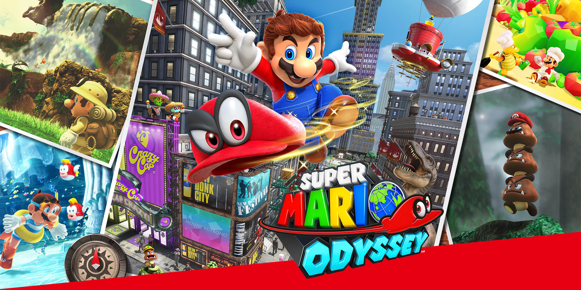 nintendo switch games - Mario Odyssey